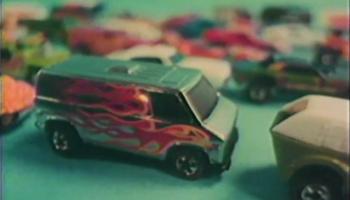1977 Hot Wheels Flying Colors - Chrome